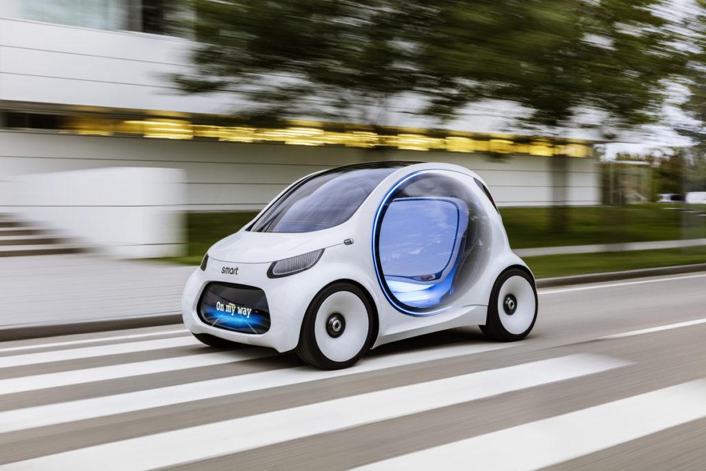 Photo of Autonomous concept car smart vision EQ fortwo