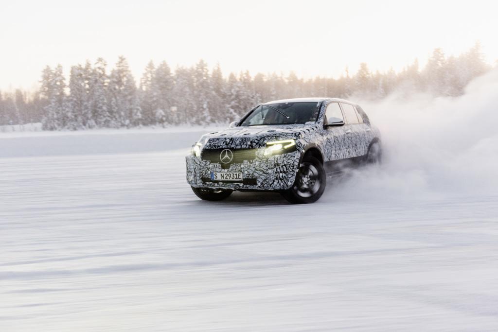 Photo of Mercedes-Benz EQC.