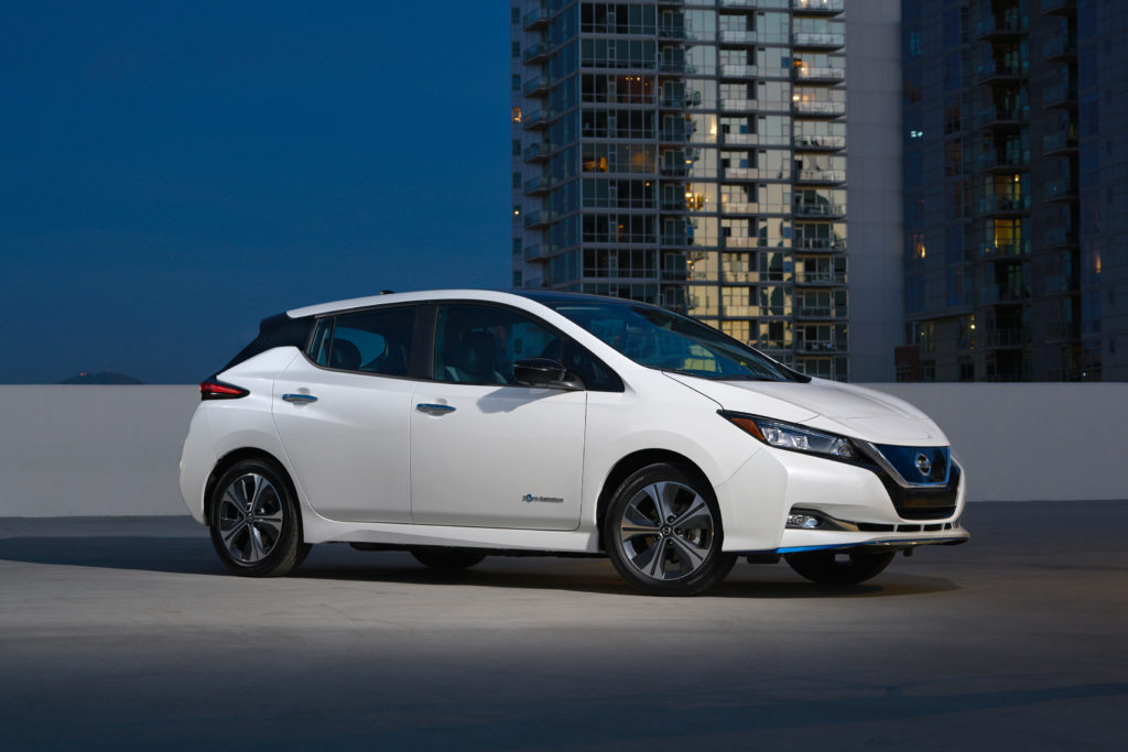 Photo of 2019 Nissan Leaf e+.