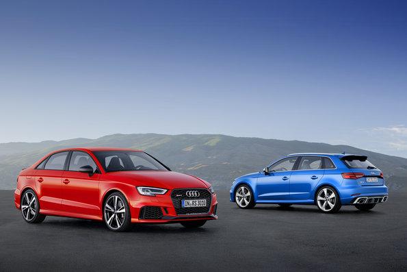 Photo of Audi RS 3 Sedan, Audi RS 3 Sportback.