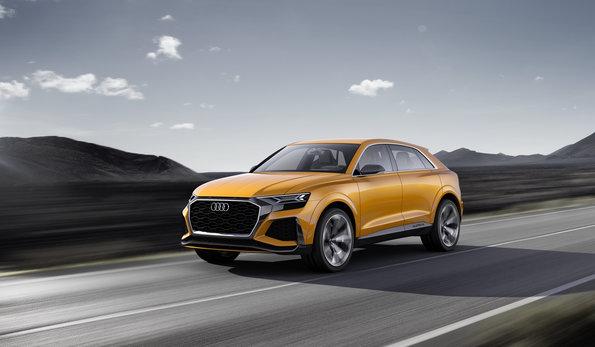 Photo of Audi Q8 sport concept.