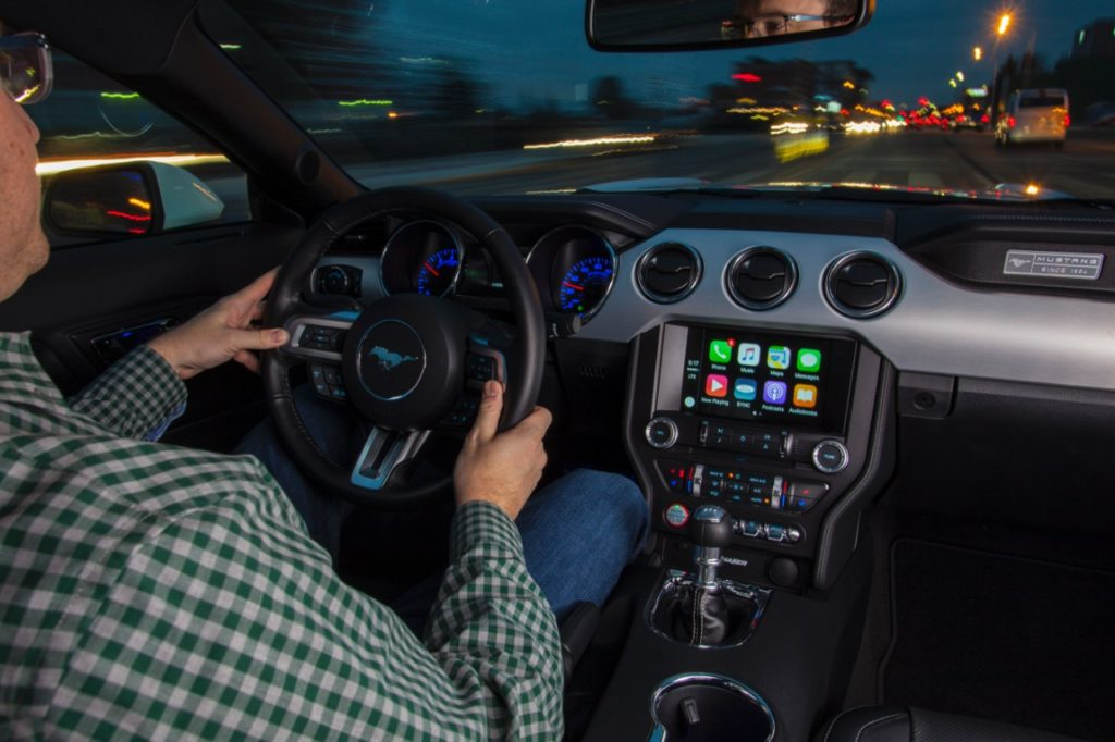 Ford SYNC3 with Apple Carplay; photo courtesy and (C) Ford Motor Co.