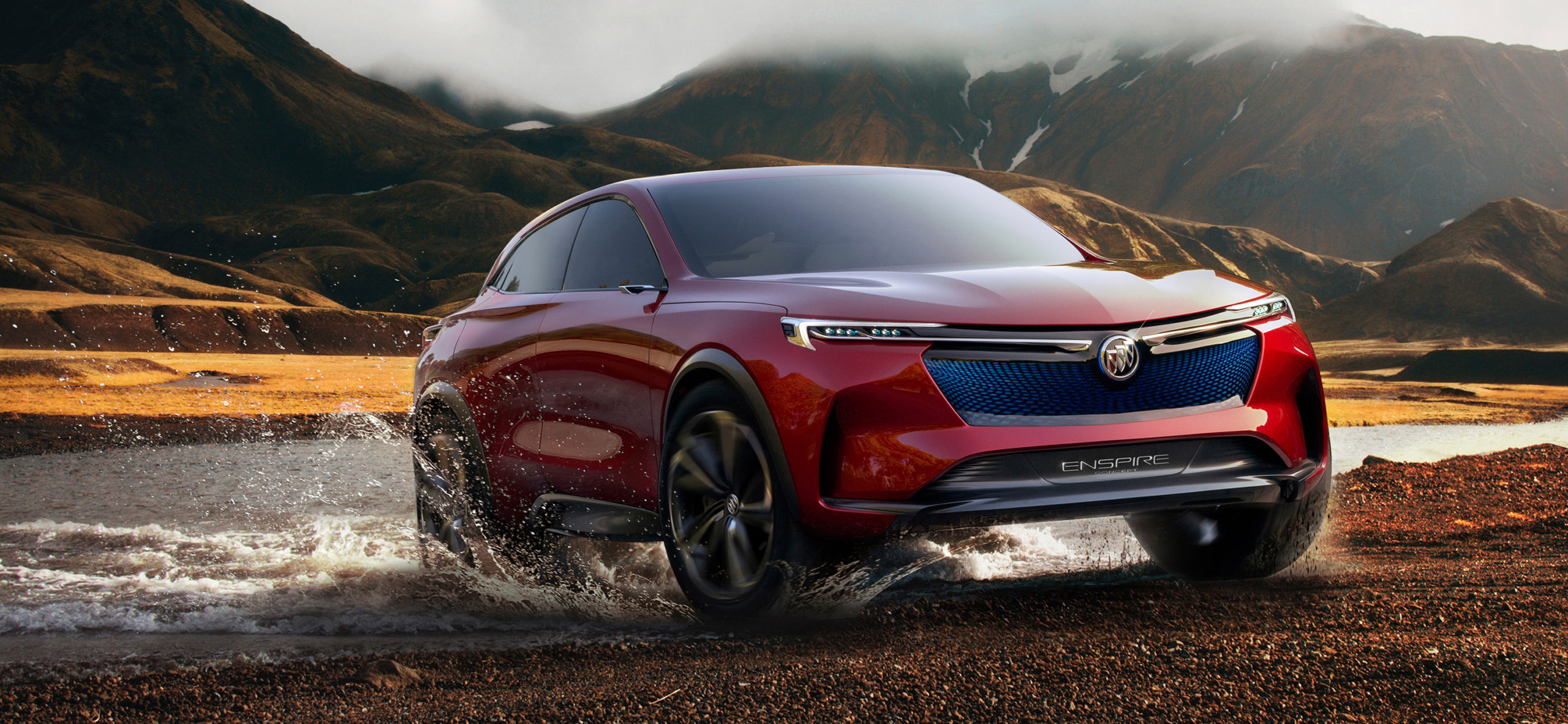 Photo of Buick Enspire all-electric concept SUV.