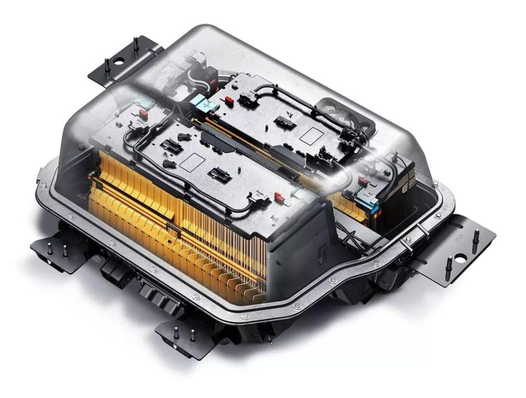 Image of Buick Velite battery.