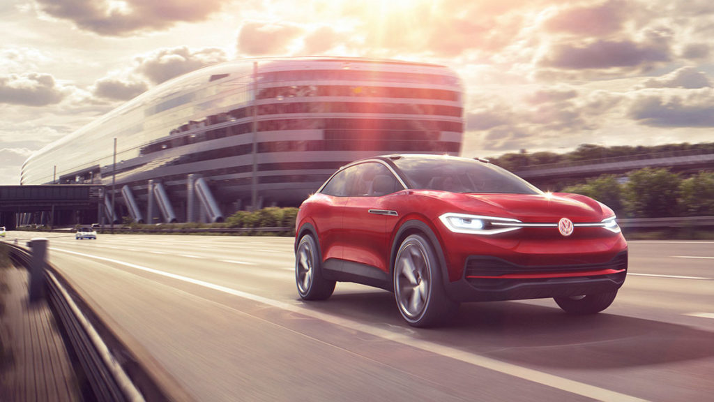 Image of Volkswagen ID. Crozz concept vehicle