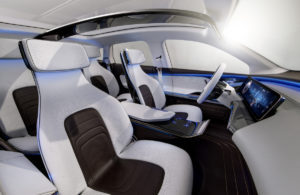 Mercedes Benz Generation EQ Concept Car Interior