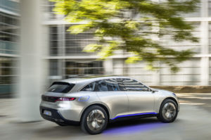 Mercedes Benz Generation EQ Concept Car Exterior