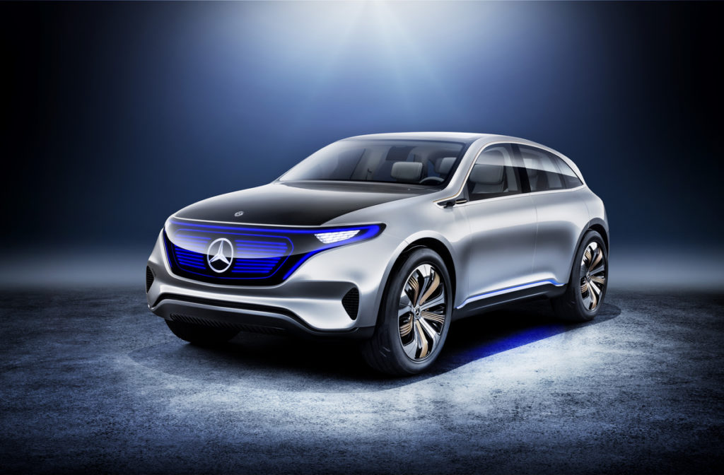Photo of Mercedes-Benz Generation EQ World Premiere at Paris Motor Show