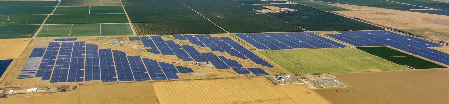 Photo of Mustang Solar Project.