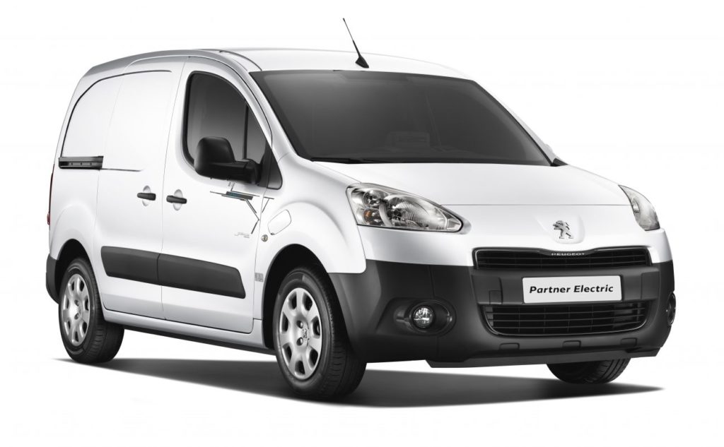 Photo of Peugeot Partner Electric.