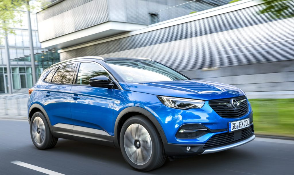 Photo of Opel Grandland X electric SUV.