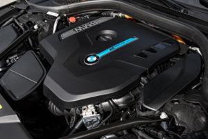 BMW 740e xDrive iPerformance engine. © BMW AG