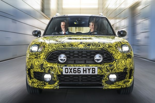 Mini's first plug-in hybrid electric vehicle.