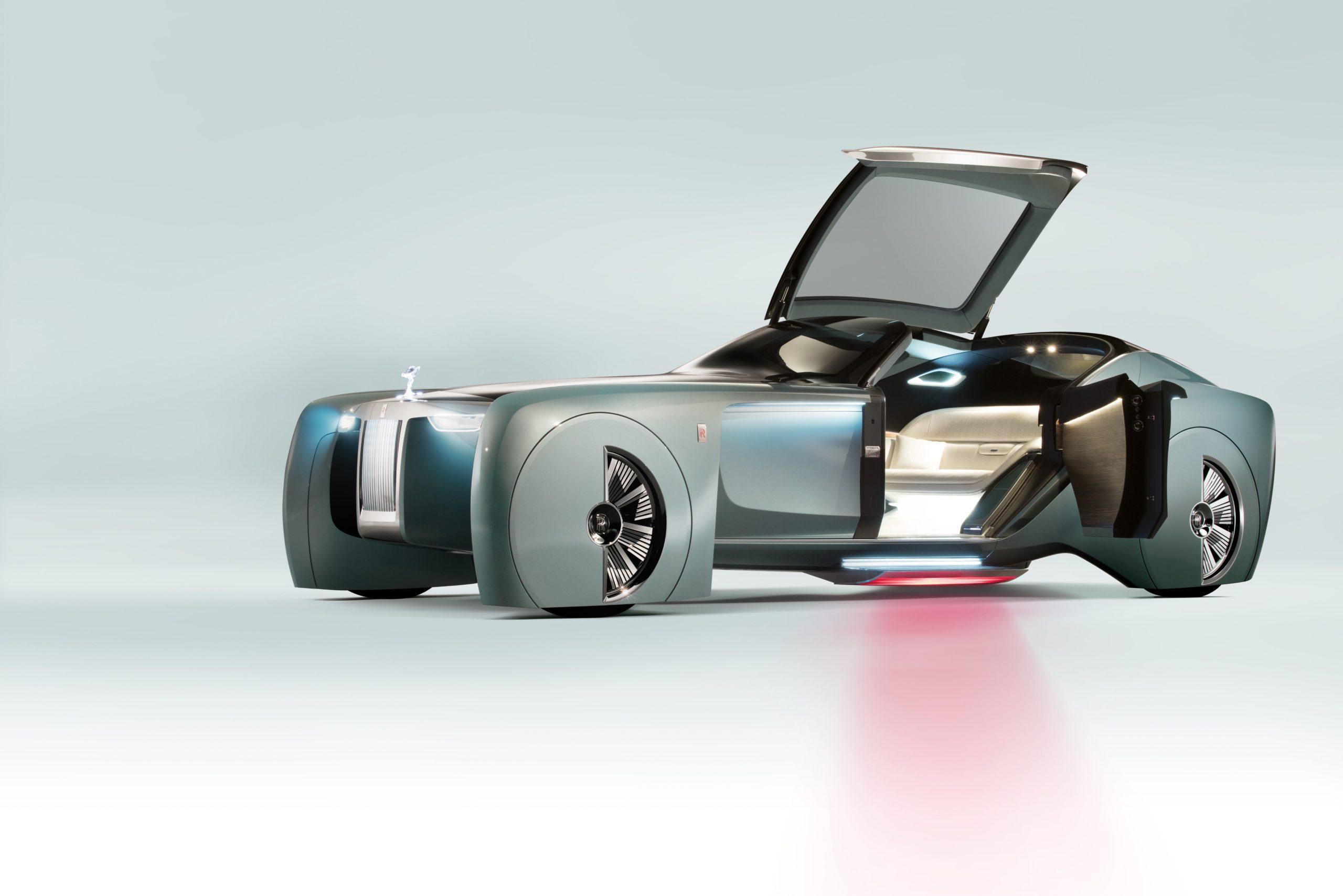 Rolls Royce Vision Next 100 (Courtesy Rolls Royce Motor Cars, (C) BMW AG)
