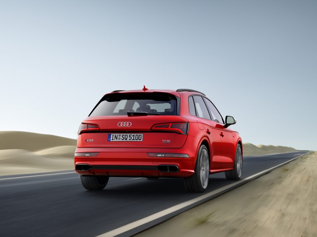Photo of 2018 Audi SQ5 (European model).