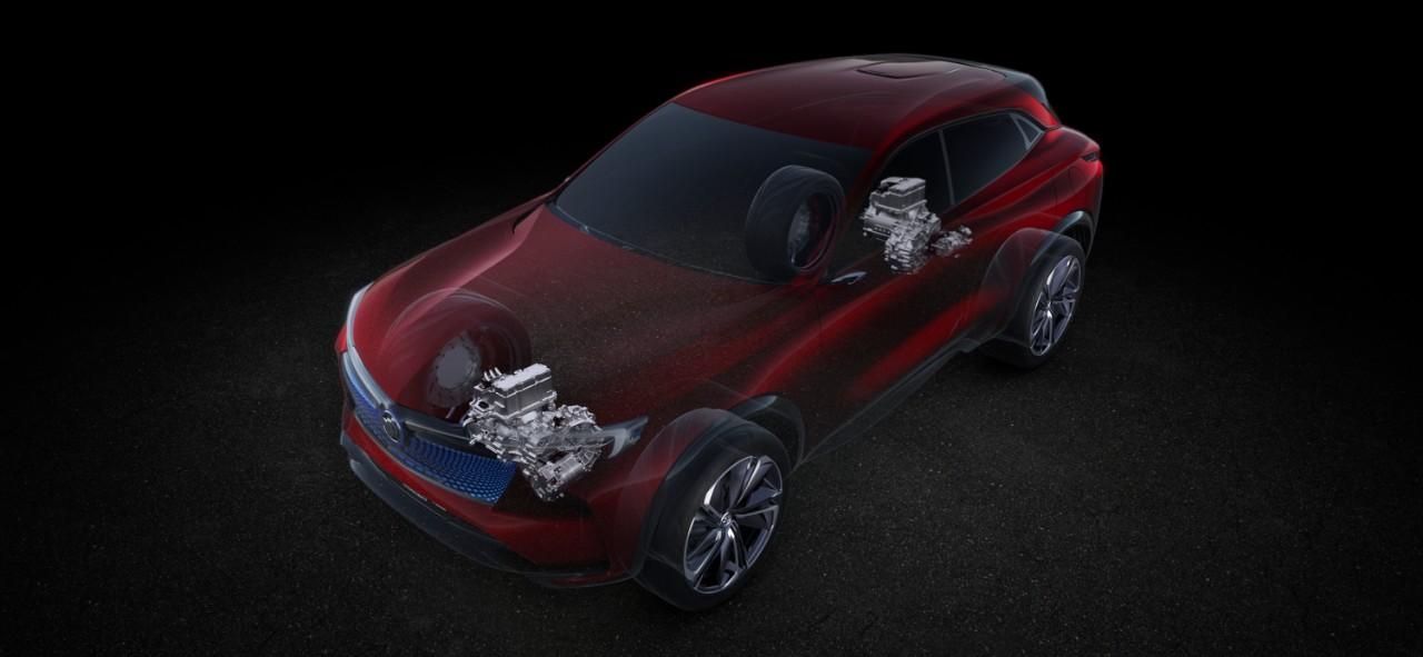 Buick Enspire EV SUV Concept.