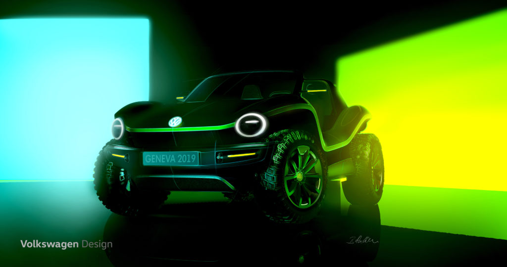 Image of Volkswagen All-Electric Dune Buggy