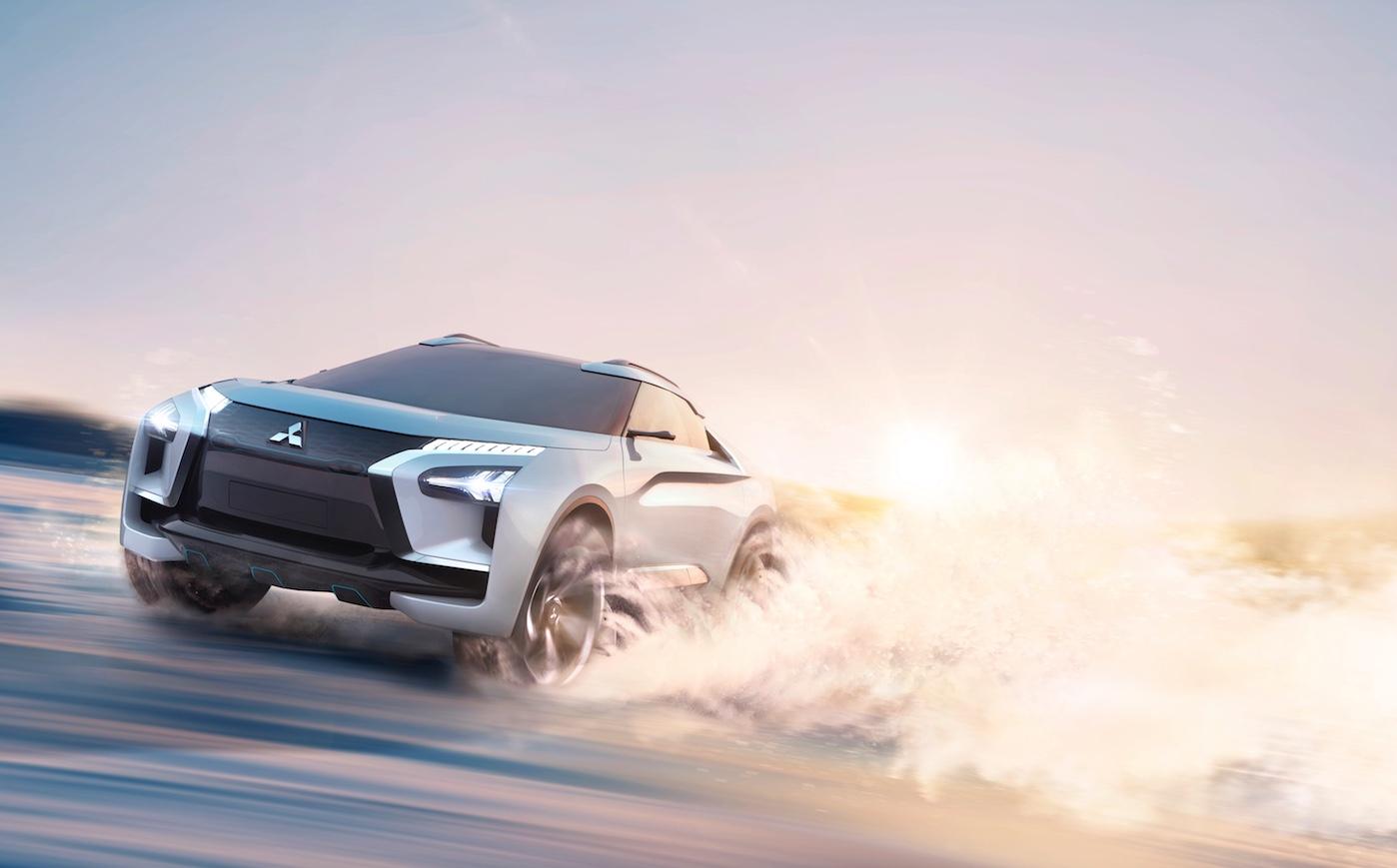Photo of Mitsubishi e-Evolution Concept.