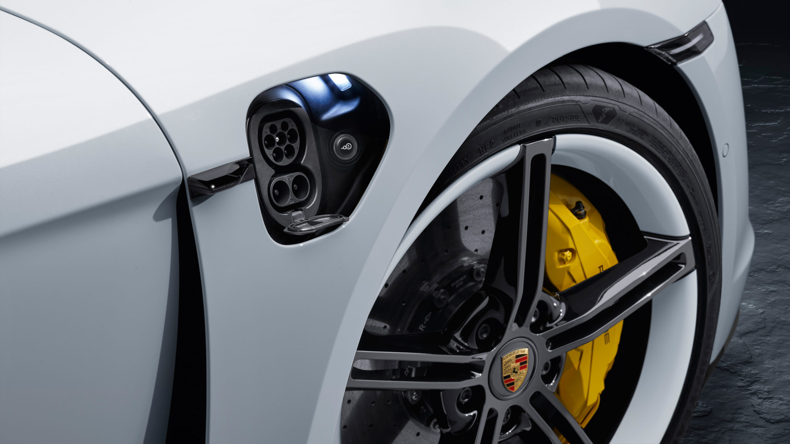Image of 2020 Porsche Taycan charging port