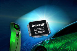 Graphic of Intersil integrated circuit