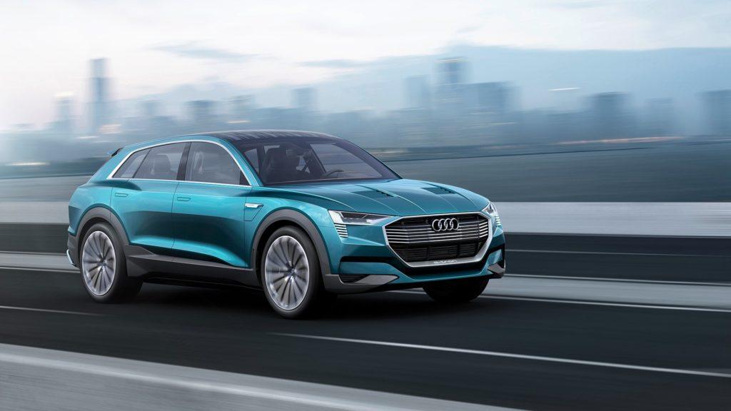 Photo of Audi e-tron quattro concept.
