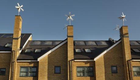 Turbines on Roof