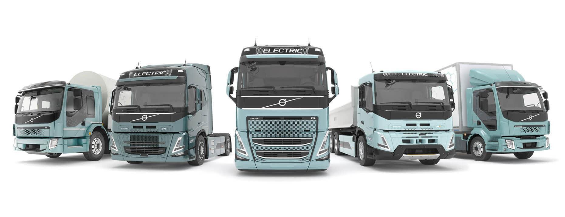 Image of electric Volvo Trucks
